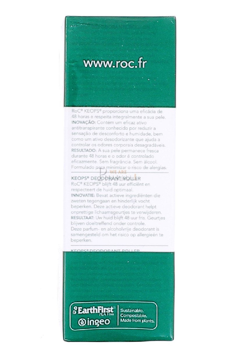 RoC Keops Roll Deodorant 2x30ml