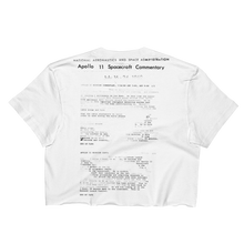 """THE TRANSCRIPT"" CROP TOP / 1 OF 50"