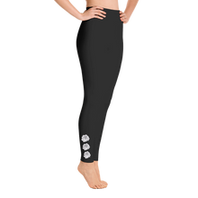 """SPACE ROSE"" YOGA PANTS"