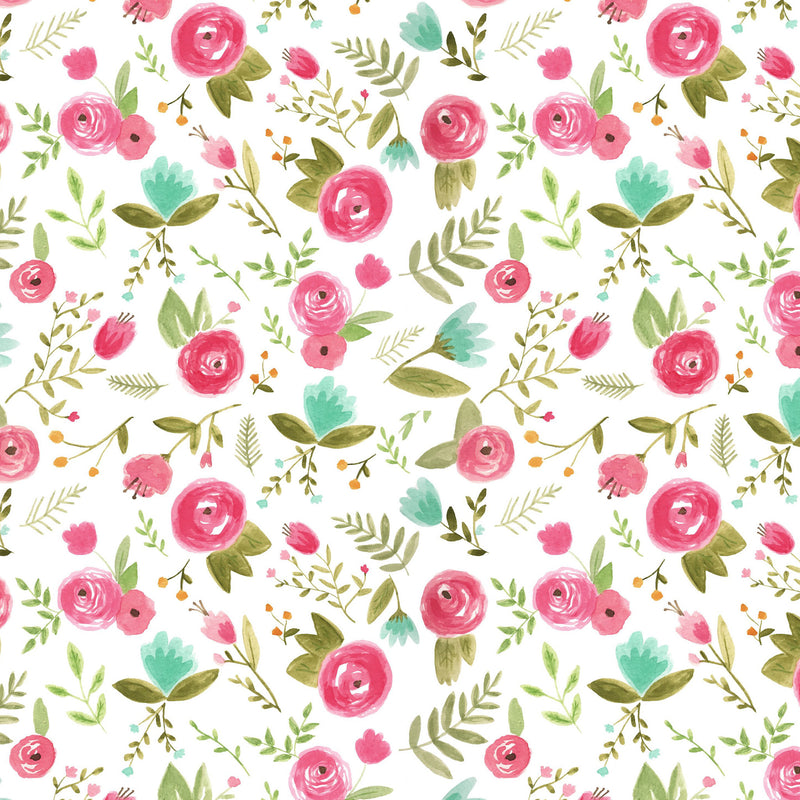 Happy Floral Wallpaper