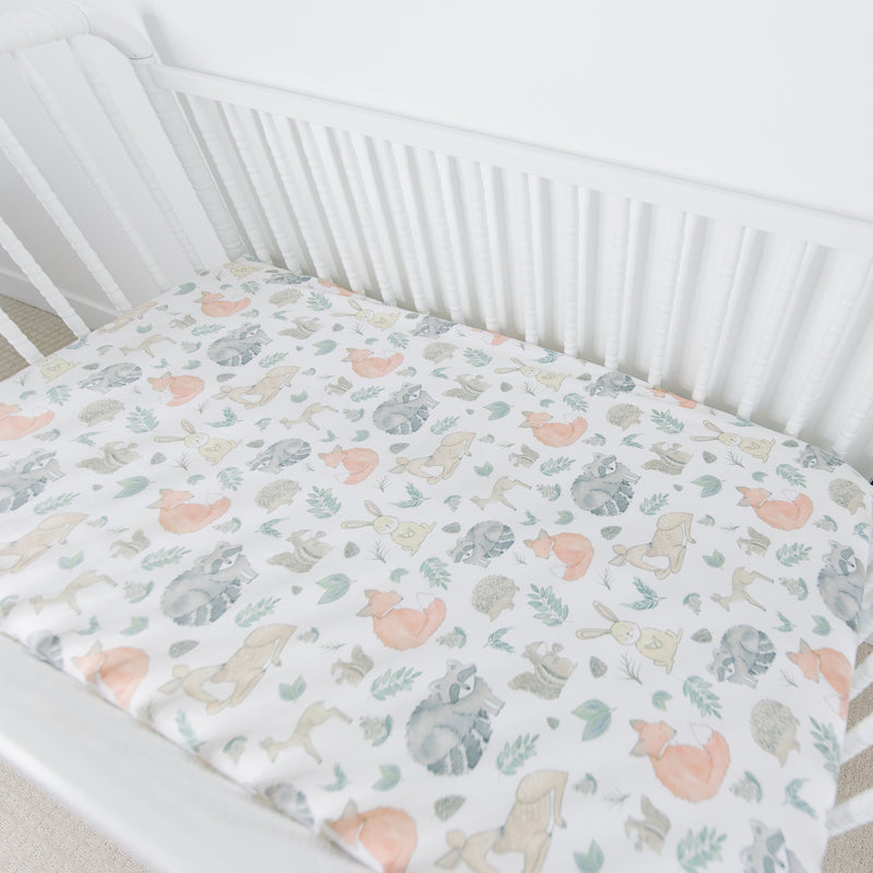Forrest Crib Sheet SALE