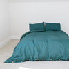 Peacock Teal Queen Duvet