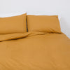 Golden Mustard Queen Duvet