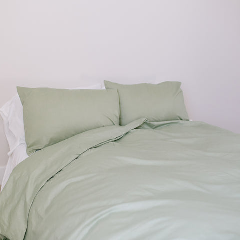 Powder Blue Queen Duvet