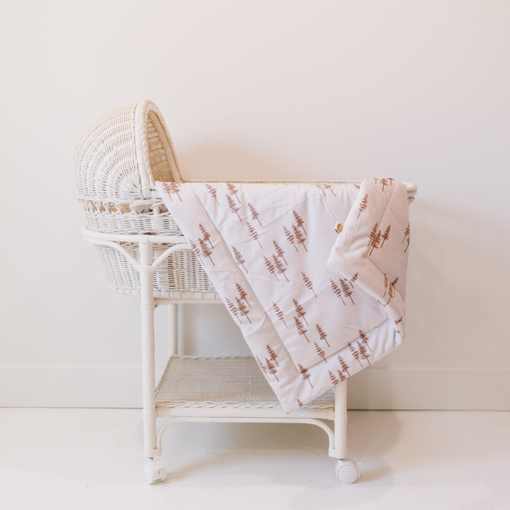 Timber Baby Snuggle Blanket
