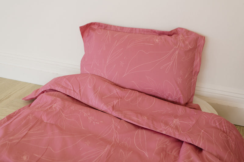 Amber Twin Comforter by The Color Amber