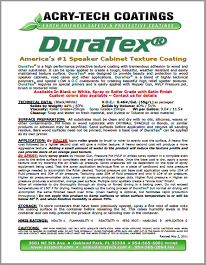 Duratex Instructions