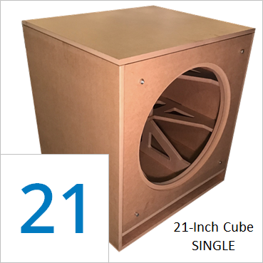 21-inch Cube Flat Pack, Retail Pricing (Single Unit) + freight shipping