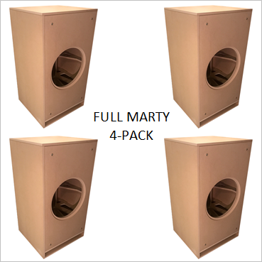 Full Marty by GSG(TM) Flat Packs (4-PACK) Wholesale Pricing $139.00/ea.