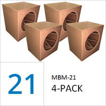 MBM-21 by GSG(TM) Flat Packs (4-PACK) Wholesale Pricing $179.00/ea. + freight shipping