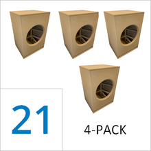 21-inch Full Marty Flat Pack (4-PACK) Wholesale Pricing Save 50% vs Singles $209.00/ea.