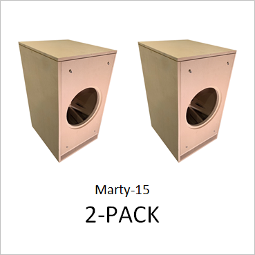 Marty 15 by GSG(TM) Flat Packs (2-PACK) Save 25% vs. Singles $193.50/ea. + freight shipping