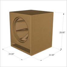 "18-Inch MartyCube by GSG(TM) ""Roundover Series"" Flat Pack, (Single Unit)"
