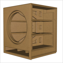 "18-Inch MartyCube by GSG(TM) ""Roundover Series"" Flat Pack, (2-PACK) $228.50/ea."