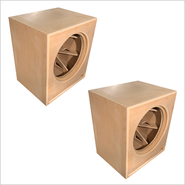 21-Inch Cube, Roundover Series, Flat Packs (2-PACK)