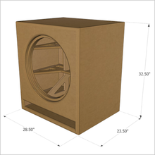 "21-Inch Cube by GSG(TM) ""Roundover Series"" Flat Pack, (Single Unit)"