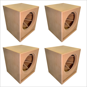 18-Inch MartyCube, Roundover Series, Flat Packs (4-PACK)