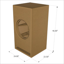 "18-Inch Full Marty by GSG(TM) ""Roundover Series"" Flat Pack, (Single Unit)"