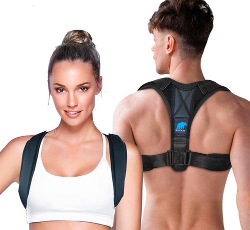 BlueBear™ Posture Corrector (Adjustable Sizes)