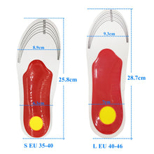 Orthopedic Gel High Arch Support Insoles