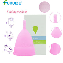 Beautique Menstrual Cup (2-pack, 100% Silicone)
