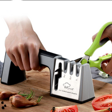 4 in 1 Knife Sharpener (Sharpen Scissors Too!)
