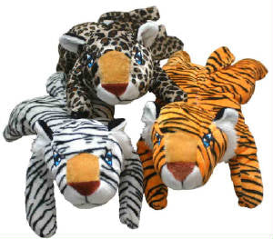 "11"" Wild Cats Plush, Toys, Novelties"