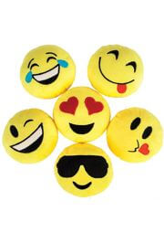 5in Emoticon Emoji Smiley Face Plush
