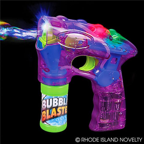 "7"" light up purple bubble blaster with sound"