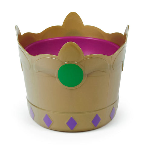 "4"" Dish-Molded Crown"