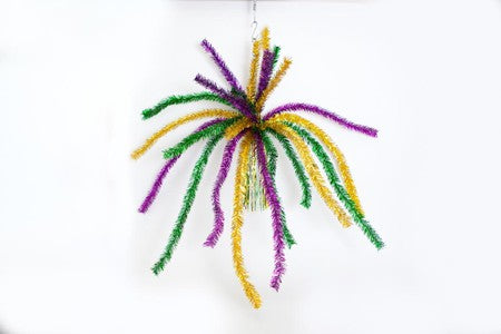 "32"" tinsel hanging decoration"