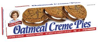 Little Debbie Oatmeal Creme Pie - 1 case
