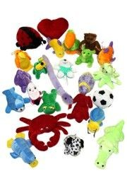 Assorted Style Stuffed/Plush Toys - 2 DZ