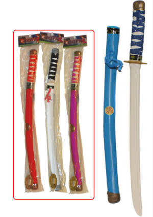 "24"" Ninja Sword toy, throws, Swords"