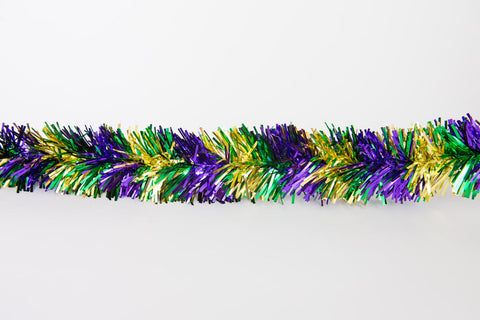 pine needle tinsel garland