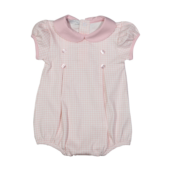 LOL-730 Lola pink gingham Pima bubble