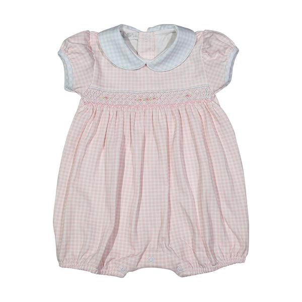 LOR-930 Lorena hand smocked Pima Bubble