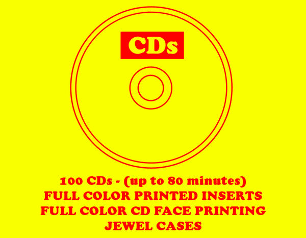 CD - Jewel Case - 100
