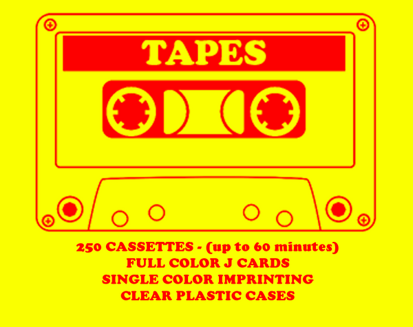 250 Tapes
