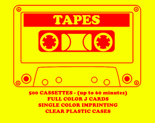 500 Tapes
