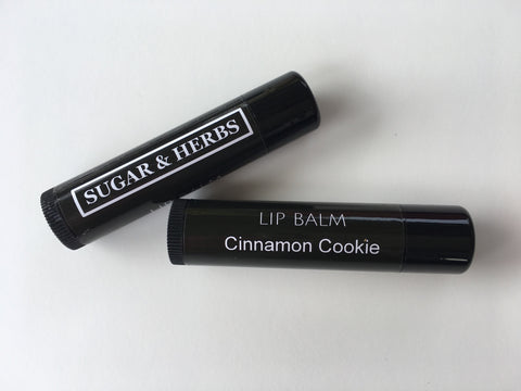 cinnamon cookie lip balm