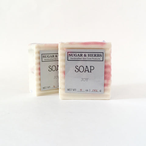Sugar and herbs joy soap bar