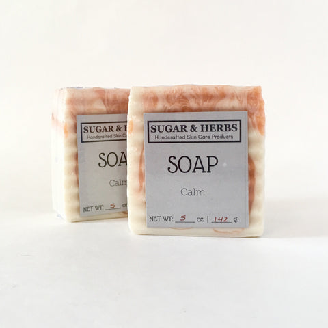 Sugar and herbs Calm Soap