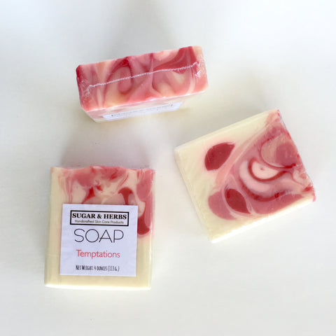 Temptations - Women's scented soap bar
