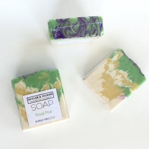 Royal Pear - scented soap bar
