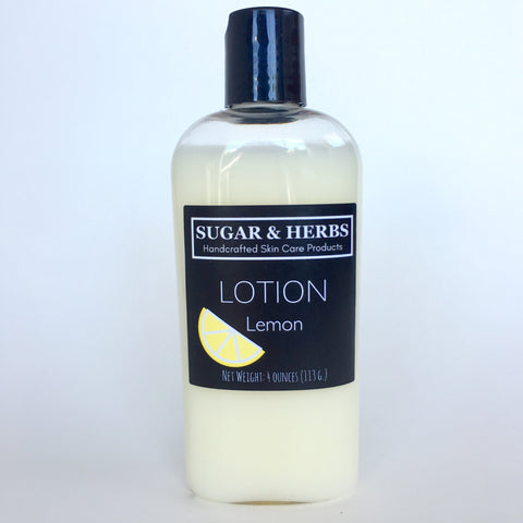 Lemon Lotion - scented with essential oil
