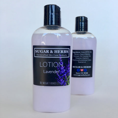 Lavender Lotion - scented with essential oil