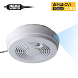 AHD-402 : 1080P 2.0MP HD Spy Hidden AHD/CVI/CVBS (composite video) Side-View Fake Smoke Detector Camera with 940nM Pinhole Lens