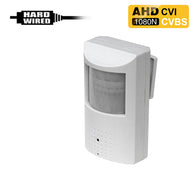 AHD-450 : 1080P 2.0MP HD Spy Hidden AHD/CVI/CVBS (composite video) Fake PIR Camera with 940nM Pinhole Lens