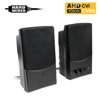 AHD-460 : 1080P 2.0MP HD Spy Hidden AHD/CVI/CVBS (composite video) Speaker Camera with 940nM Pinhole Lens